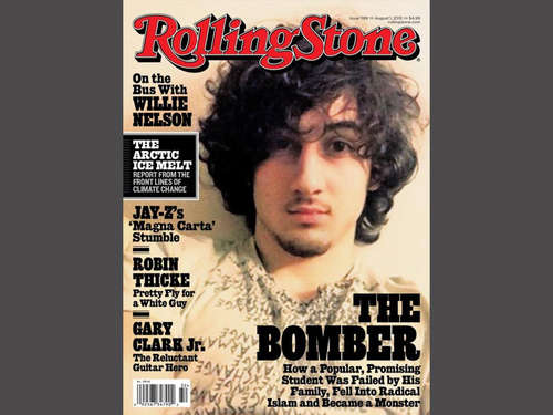 """Rolling Stone"" mit Boston-Bomber auf dem Cover"