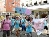 Christopher Street Day: Parade in Kassel