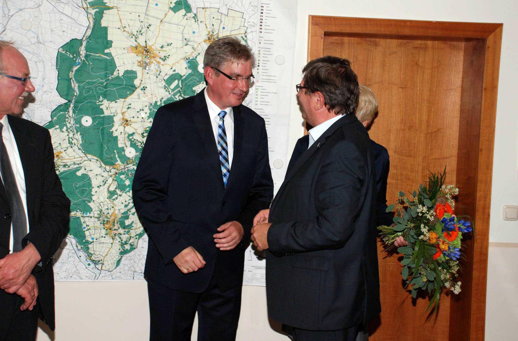 Steuber Kassel bürgermeisterwahl in lichtenfels alleiniger kandidat uwe steuber