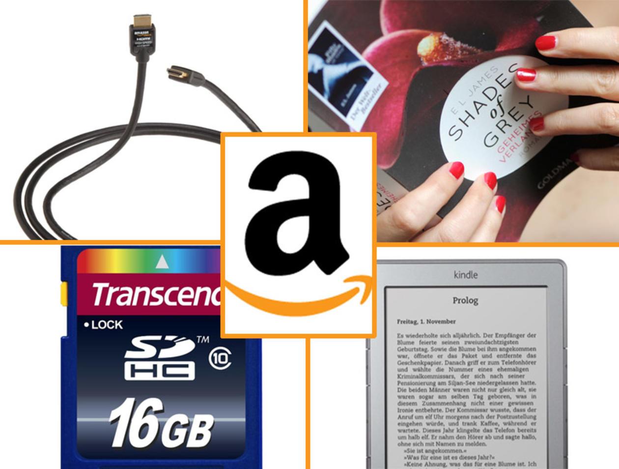 Amazon: BGB, Kindle, HDMI Kabel das sind die Topseller