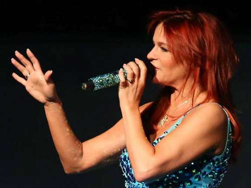 Andrea Berg in der Eissporthalle