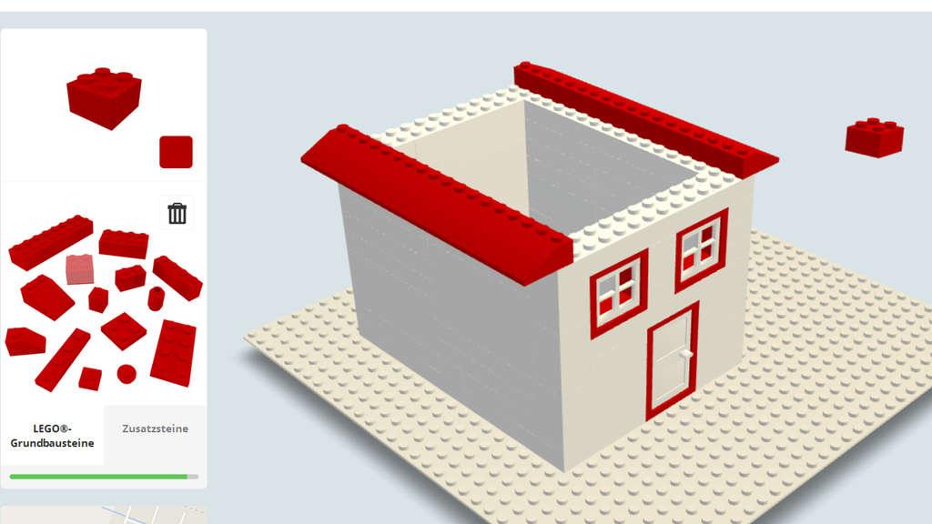 puter Kinderspiele Mit Lego bauen im Internet