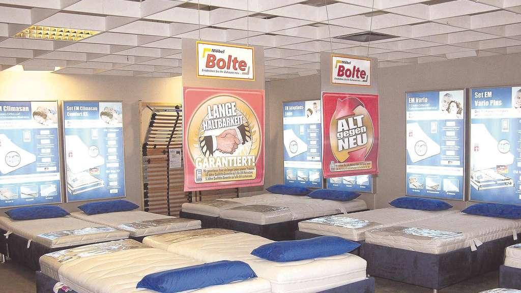 Möbel Bolte Vellmar möbel bolte hat neues matratzen-kompetenz-zentrum eröffnet | kreis