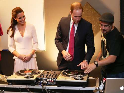 DJ Kate und MC William rocken Australien