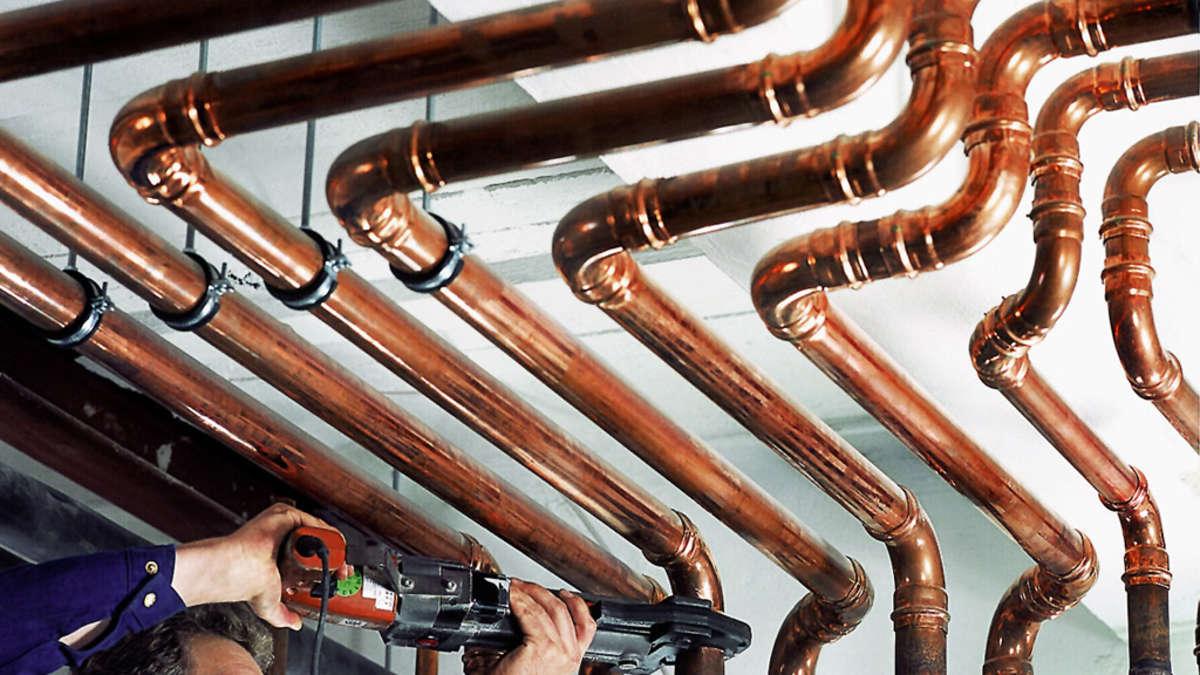 Berühmt Kupfer stellt seine Haltbarkeit und Sicherheit schon lange unter EF45