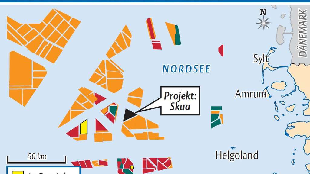 Nordsee: Offshore-Windparks