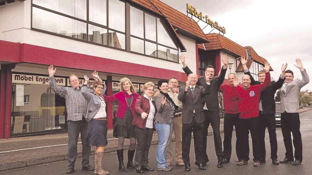 50 Jahre Mobel Engelhardt Jubilaumsfeier Mit Dem Team Und Den