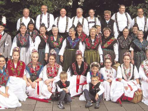 In Tracht zur Theresienwiese