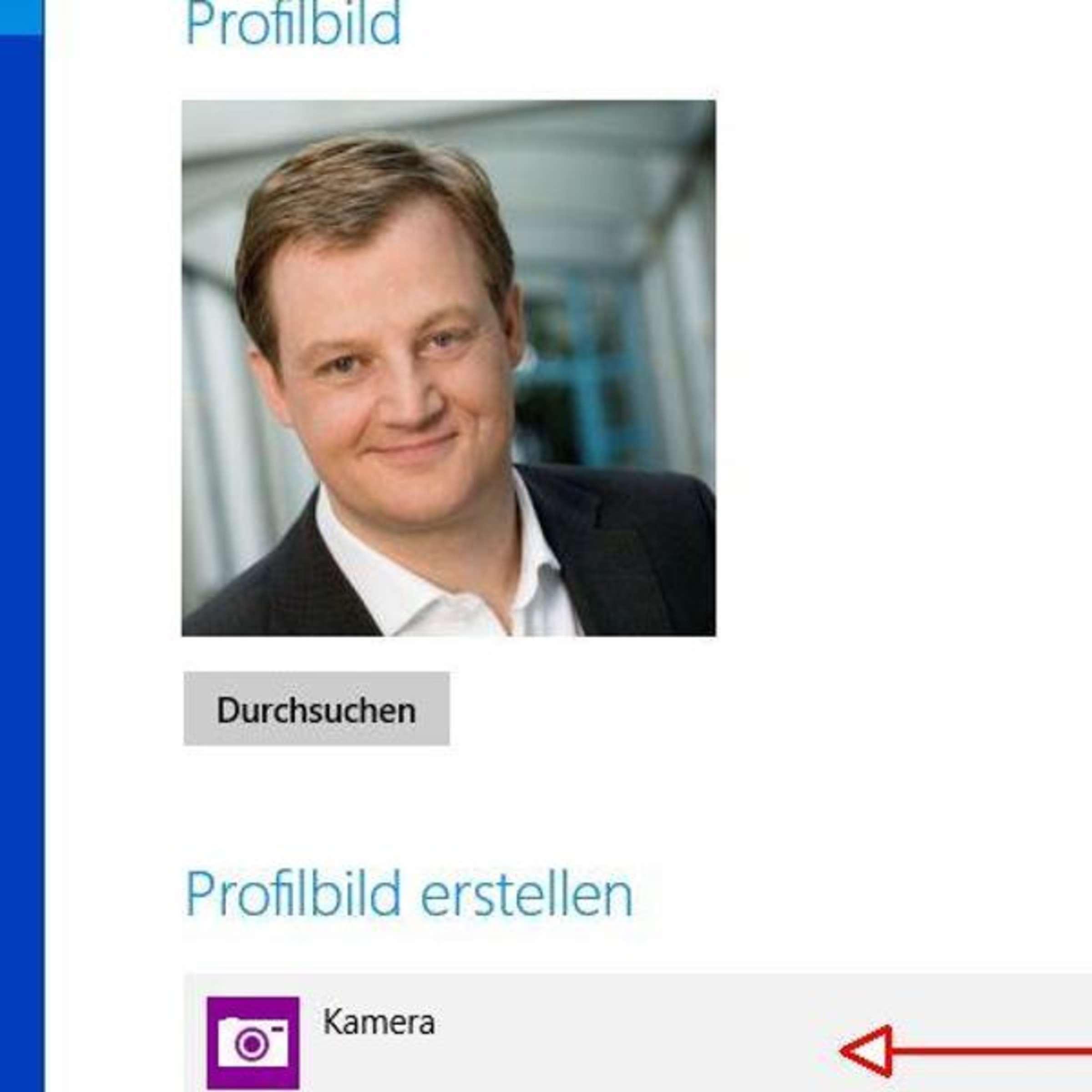 Erstellen profilbild Profilbild für