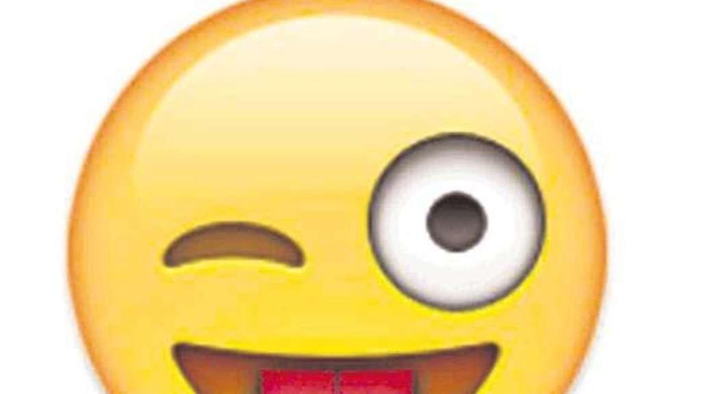 Smileygesicht mit der Zunge heraus Bedeutung