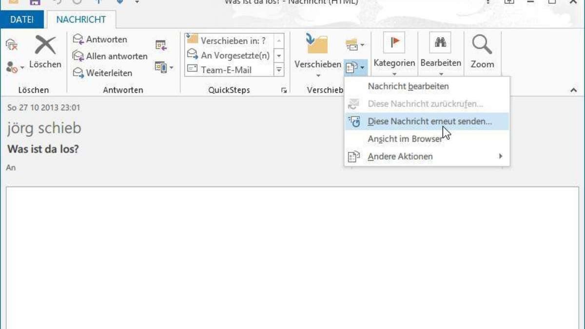Beste E Mail Nachricht Für Das Senden Der Fortsetzungsstichprobe ...