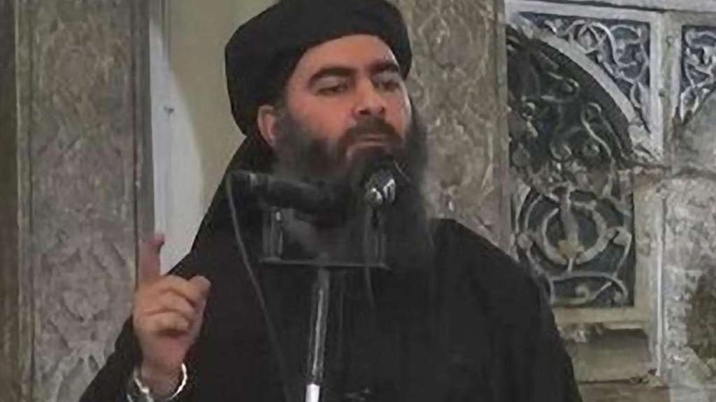 IS-Anführer Abu Bakr al-Baghdadi. Foto: Islamic State Video