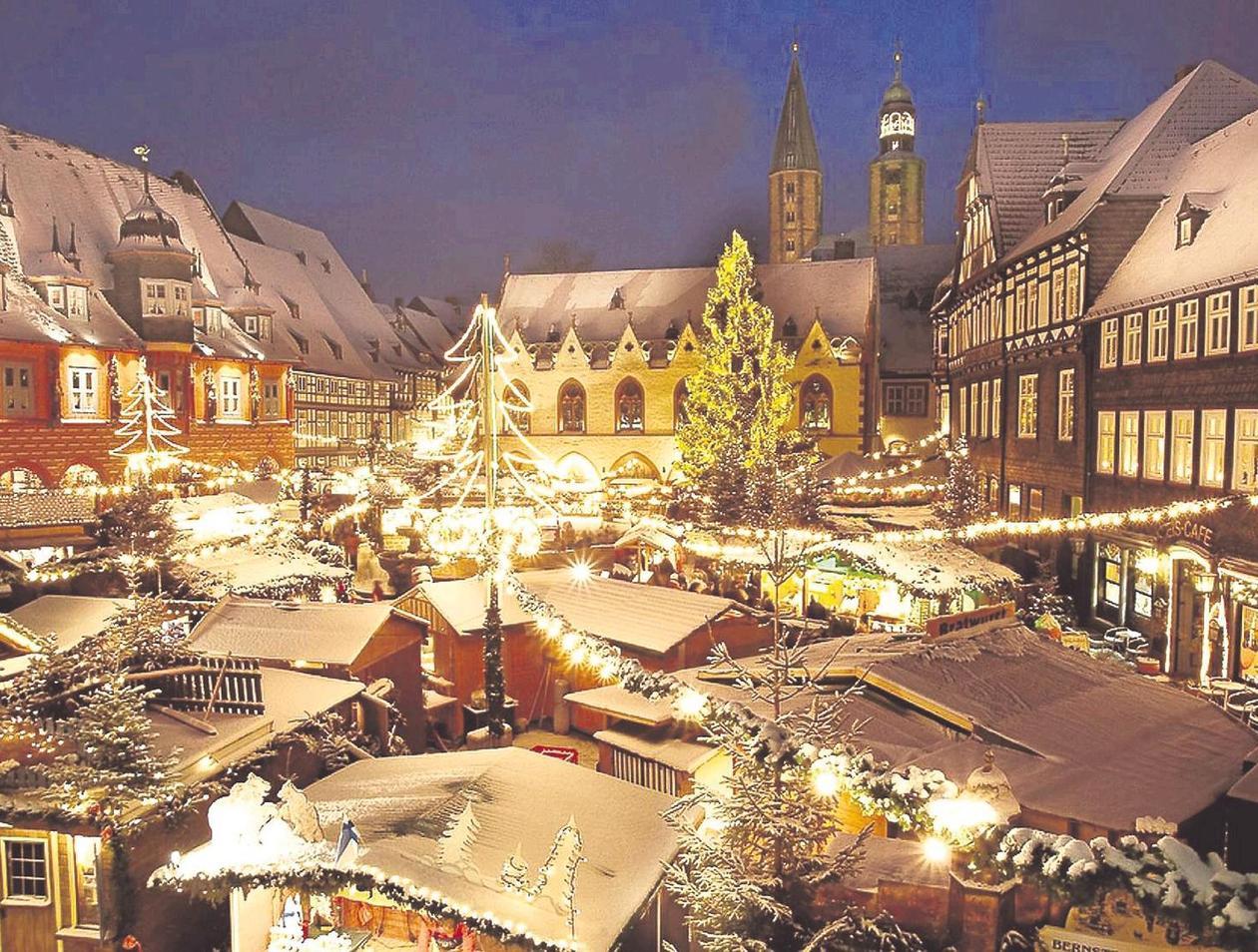 Bester Weihnachtsmarkt Deutschland.Goslar Hat Den Schönsten Weihnachtsmarkt In Deutschland Goslar