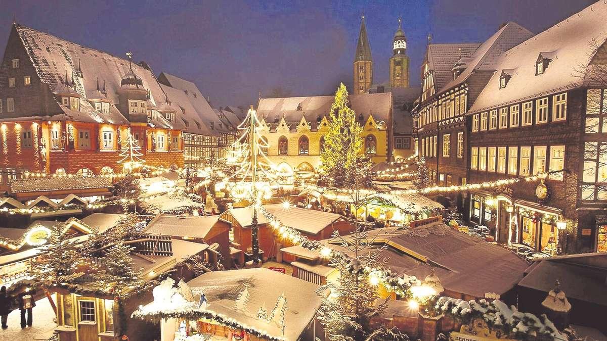 Goslar Weihnachtsmarkt.Goslar Hat Den Schonsten Weihnachtsmarkt In Deutschland Goslar