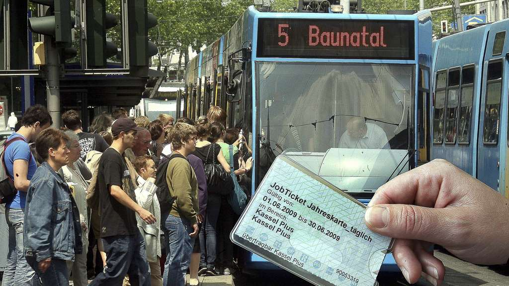 Job-Ticket. Archivfoto: Herzog
