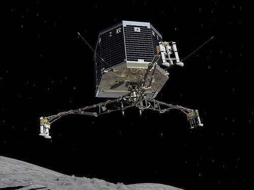Wo ist Roboter Philae?