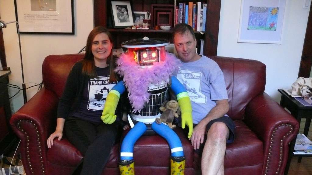 hitchBot, Dr Frauke Zeller, David Harris Smith of