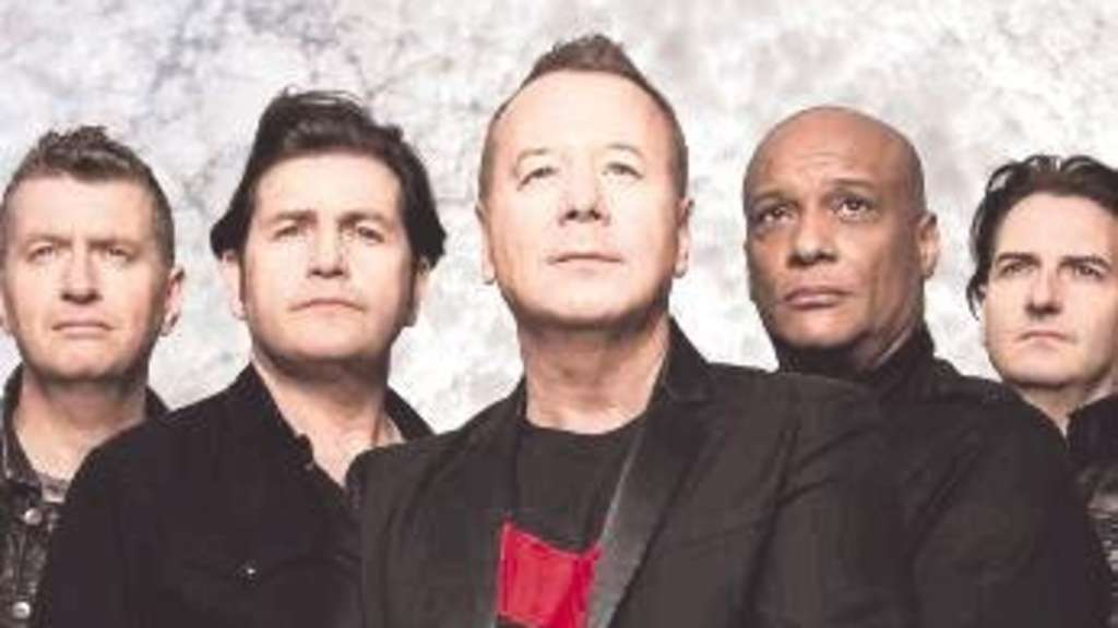 Kommen nach Kassel: Die Simple Minds. Foto:  privat/nh