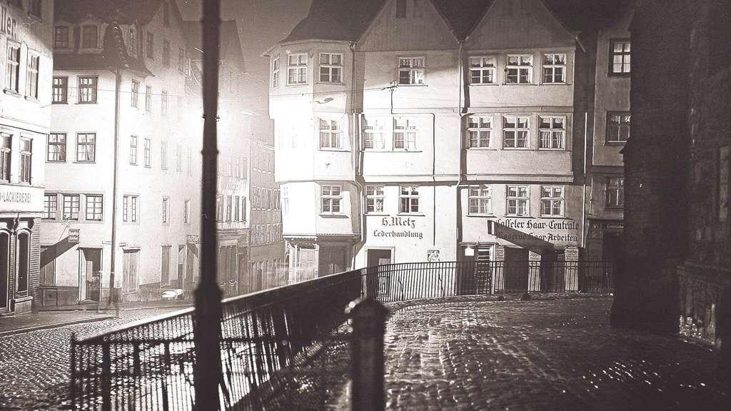 es wird nacht im alten kassel fotos der 1920er jahre kassel. Black Bedroom Furniture Sets. Home Design Ideas