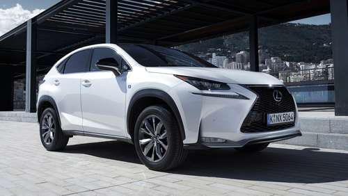 Japan-SUV NX 200t: Lexus packt den Turbo aus