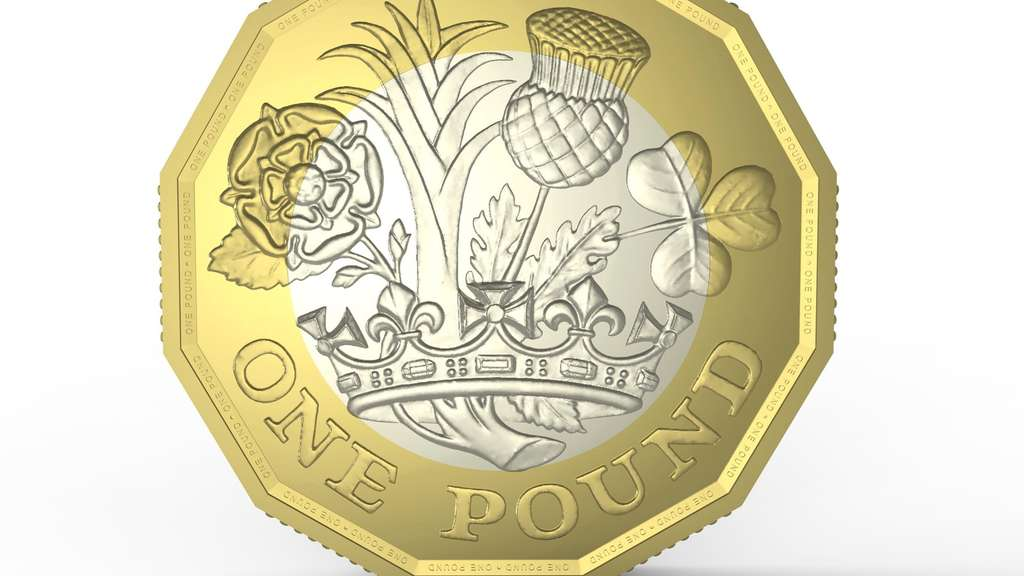 Teenager Entwirft Die Neue Britische Pfund Münze Welt