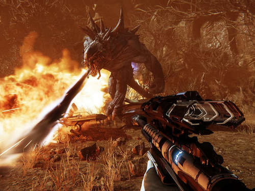Multiplayer-Monsterjagd: Evolve im Test