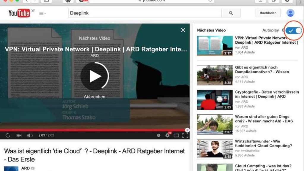Autoplay Funktion In Youtube Abschalten Netzwelt