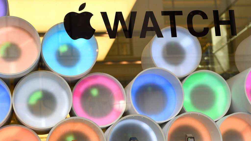 Die Apple Watch.