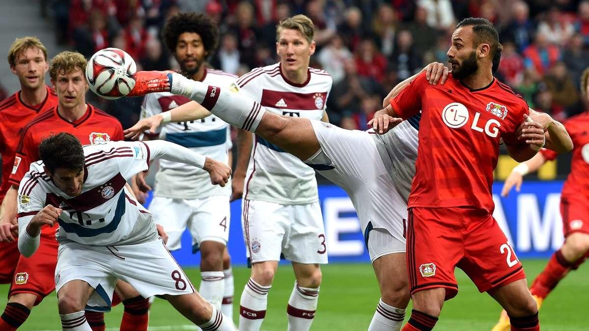 Fc Bayern Gegen Leverkusen