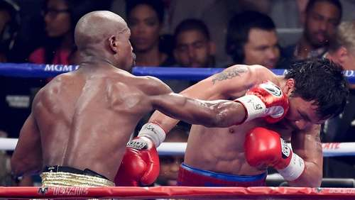 Mayweather bietet Pacquiao Revanche an