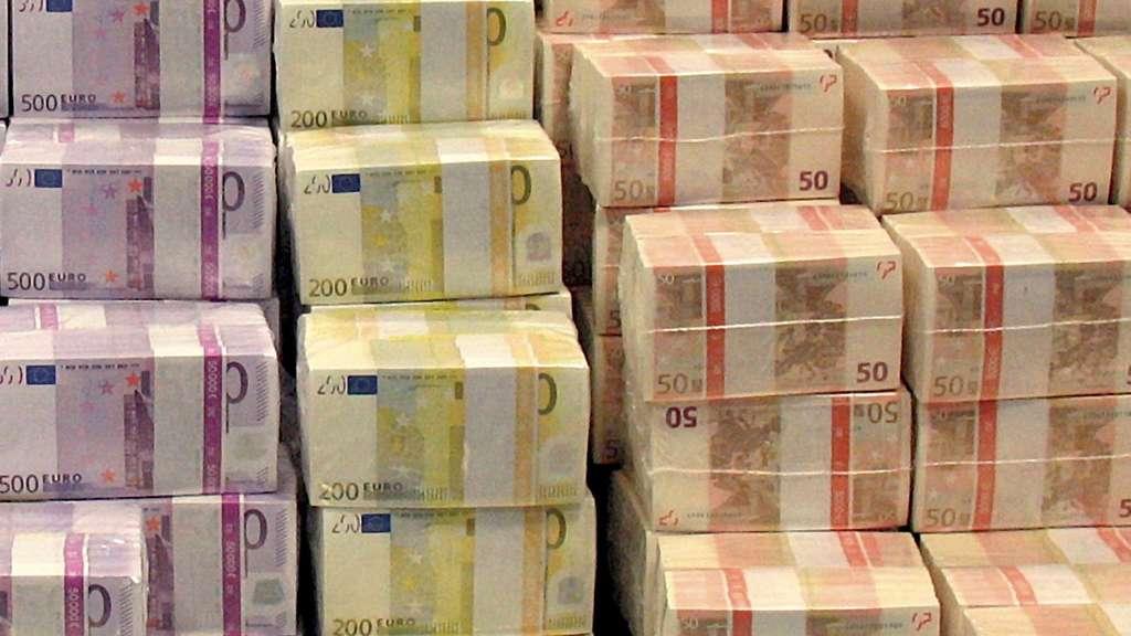 Millionen Euro Scheine