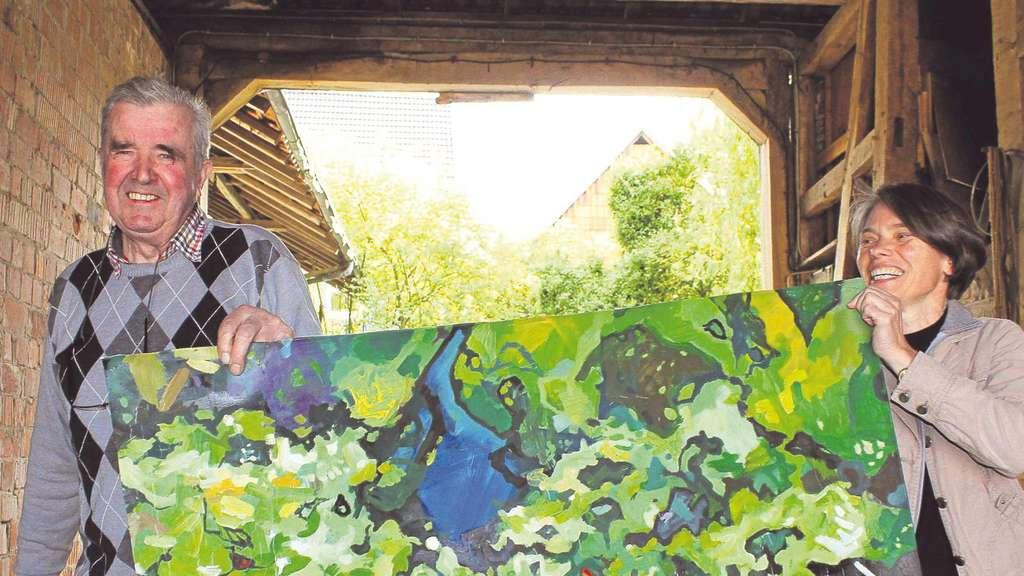 alltagsr ume werden bei dorf eigen art zur galerie wolfhagen. Black Bedroom Furniture Sets. Home Design Ideas