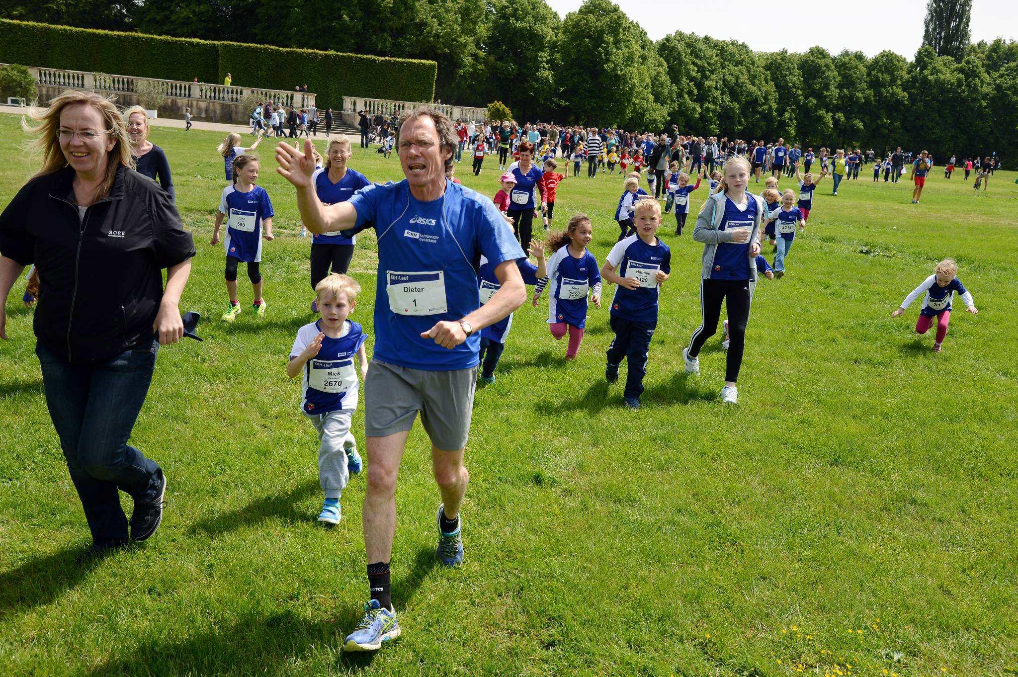 KKH-Lauf: Mit Olympiasieger Dieter Baumann durch die