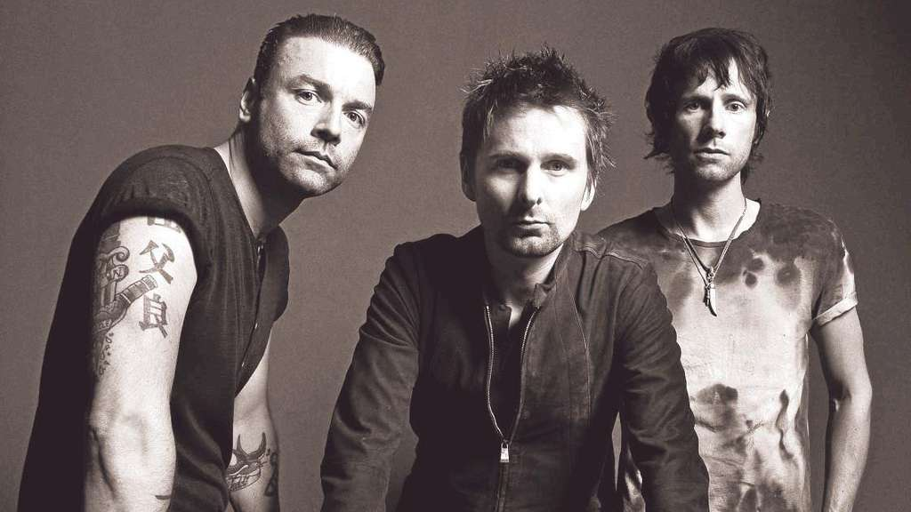 Sie sind Muse: (von links) Chris Wolstenholme, Matt Bellamy und Dominic Howard. Foto: Clinch