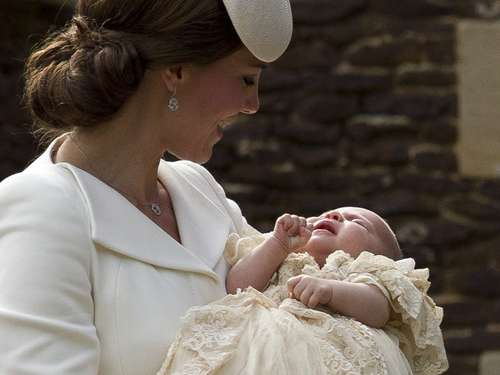 Prinzessin Charlotte getauft: Prinz William und Kate stolz