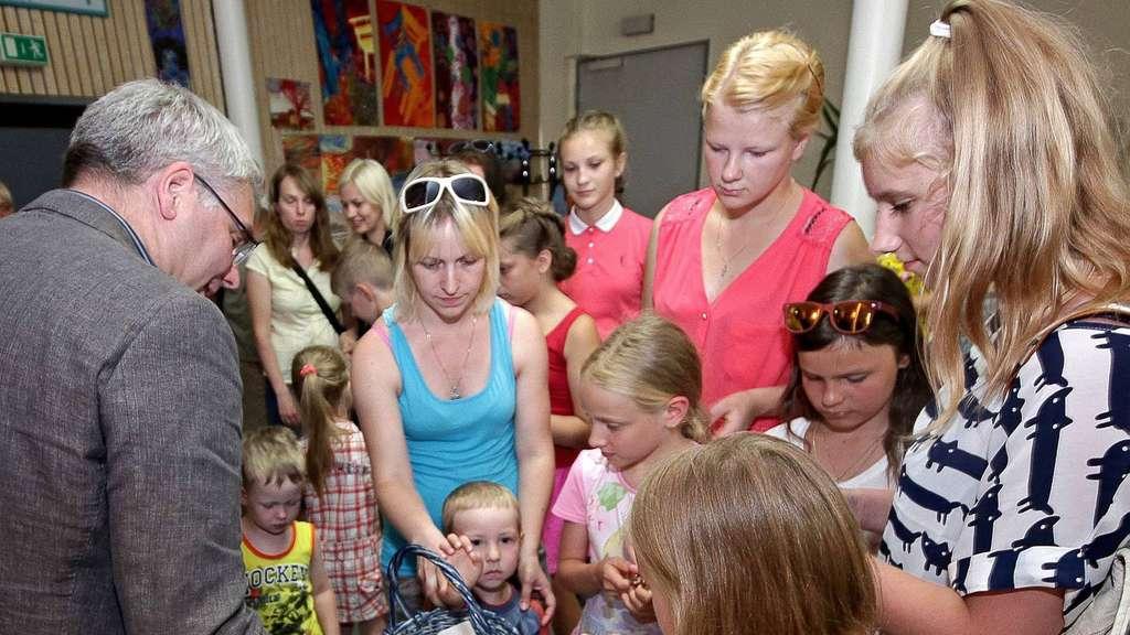 Kinder Aus Weißrussland Zu Gast Im Kreis Northeim