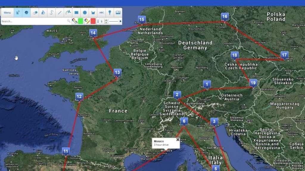 Karte Mit Markierungen Erstellen Kostenlos.Scribblemaps Karten Im Browser Bearbeiten Netzwelt