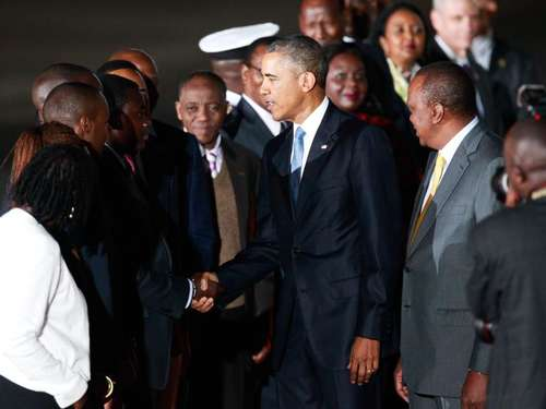 Obama in Kenia - straffes Programm in vier Tagen
