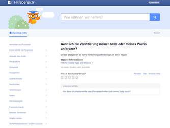 Wie verifiziere ich meine Facebook-Seite?