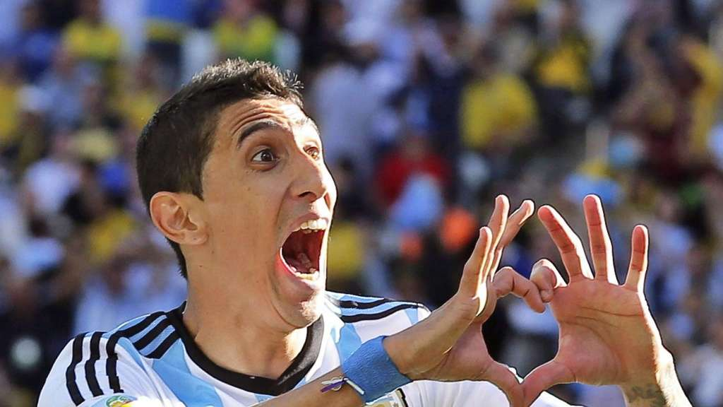 Angel di Maria, Paris St. Germain, Manchester United
