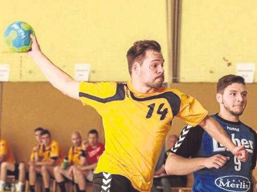 Handball satt in Bebra