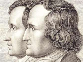 Wilhelm (links) und Jacob Grimm