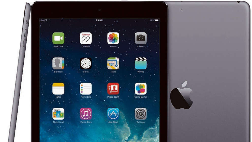 Apple iPad Air 2 Spacegrau