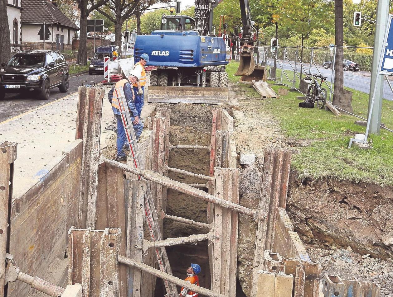 Beliebt Kanalbau an Ludwig-Mond-Straße: Stau bis Jahresende | Südstadt NI43