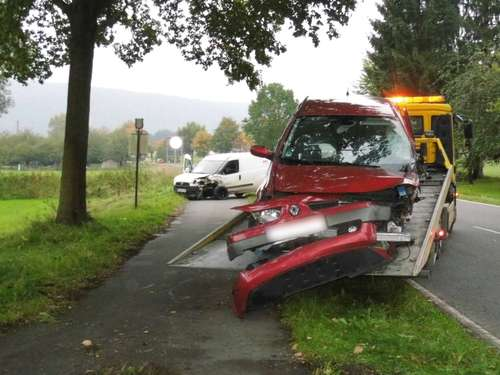 Unfall in Vaake
