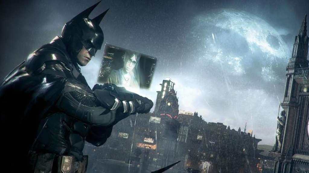 "Batmans letzte Schlacht: ""Batman: Arkham Knight"" soll Ende Oktober wieder in den Verkauf gehen. Das hat Publisher Warner Interactive angekündigt. Screenshot: Warner Interactive Foto: Warner Interactive"
