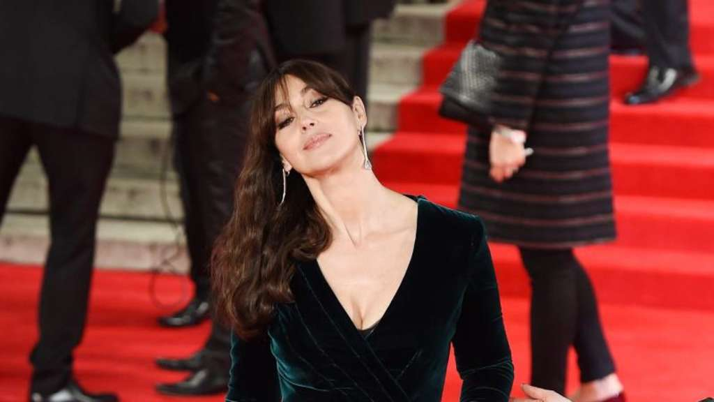 Bond-Girl Monica Bellucci bei der Premiere in London. Foto: Andy Rain