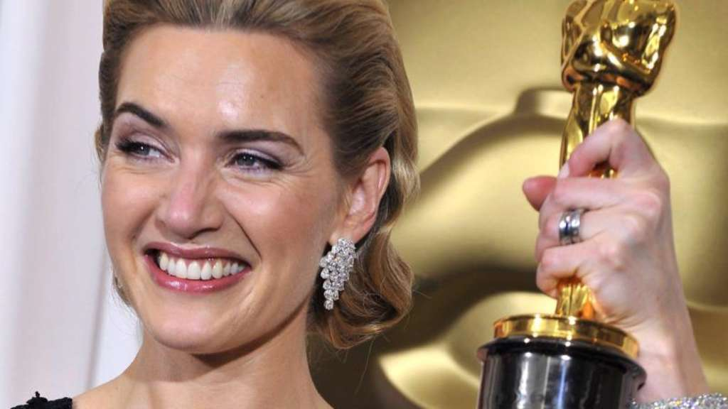 Kate Winslet bei der Oscarverleihung 2009 in Hollywood. Foto: Paul Buck