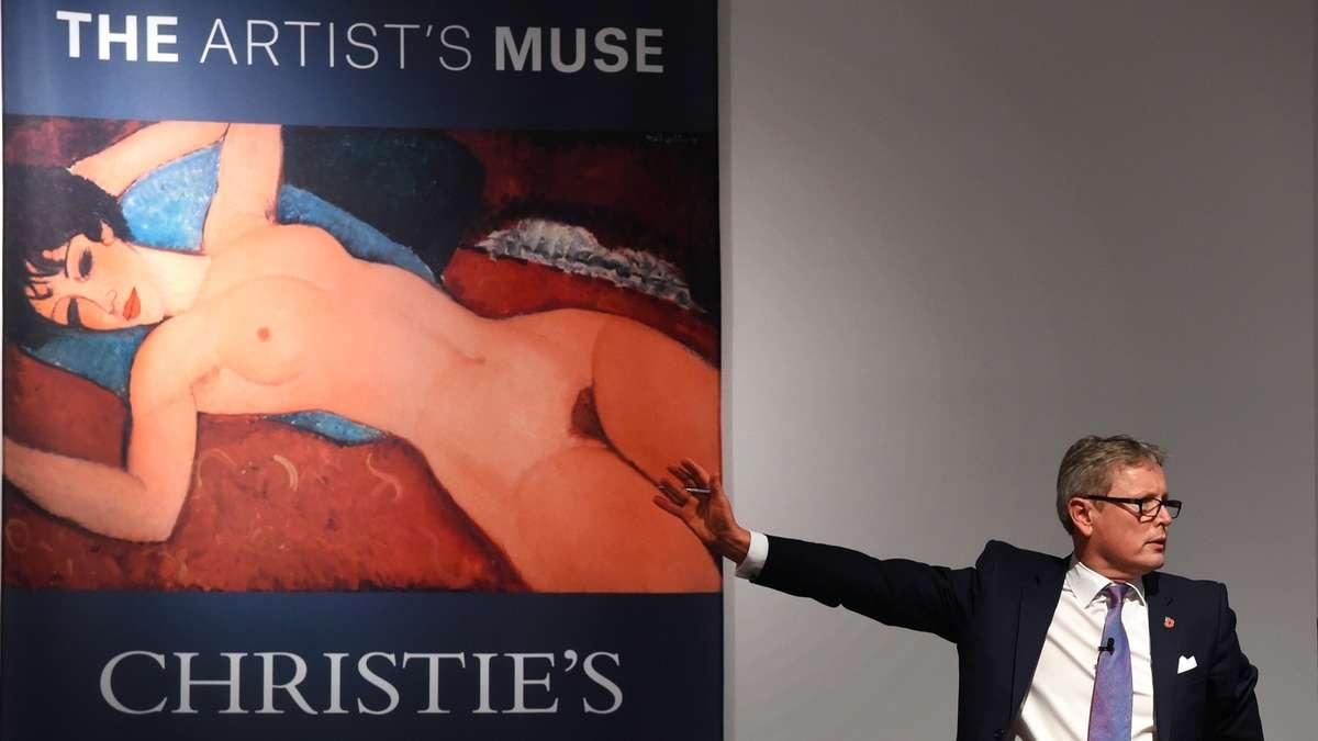 Modiglianis Liegender Akt Für 170 Millionen Dollar Versteigert