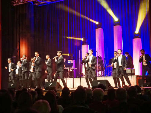 The 12 Tenors in der Stadthalle